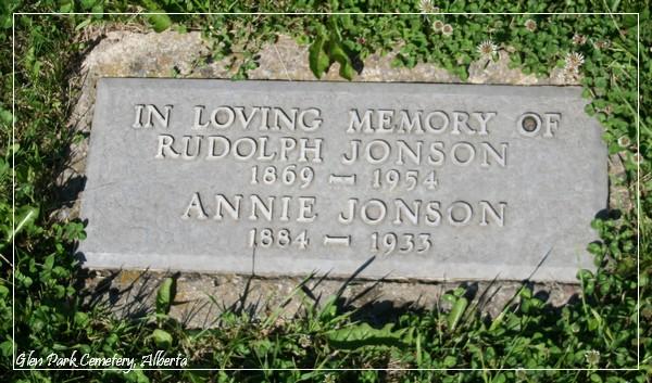 Jonson Rudolph Annie