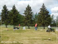 Glen park Cemetery Maint 2016-2